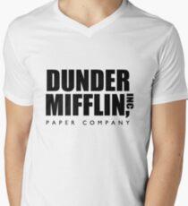 Dunder Mifflin Paper Company  Men's V-Neck T-Shirt
