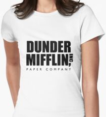 Dunder Mifflin Paper Company  Women's Fitted T-Shirt