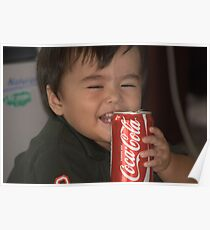 A coke and a smile Poster