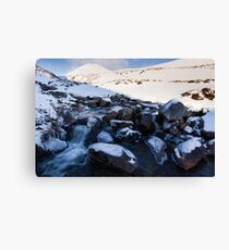 Winter in Glenshee Canvas Print