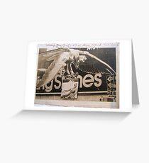 STONES '73 WORLD TOUR Greeting Card