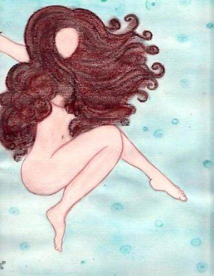 She Floats by Art By Misty