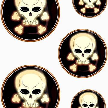 Skulls for pirates by BartHellemans