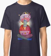 Brainstorming colorful illustration Classic T-Shirt