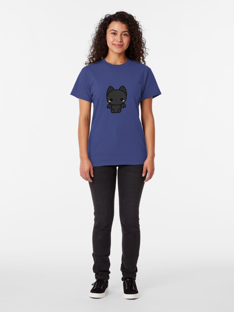 Alternate view of Cute spooky bat Classic T-Shirt