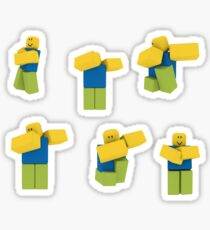 Roblox Dabbing Dancing Dab Noobs Sticker Pack Sticker