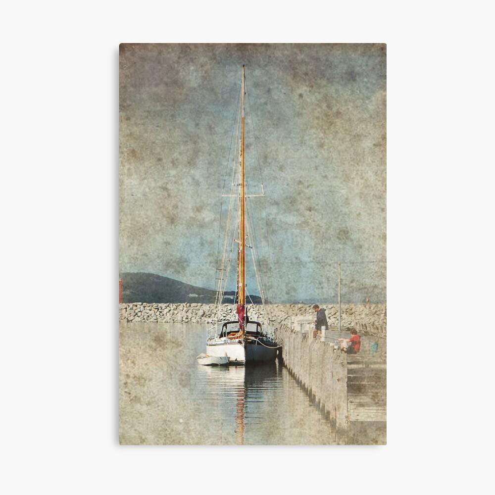 Yacht Canvas Print