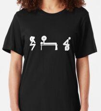 Squat Bench Deadlift Slim Fit T-Shirt