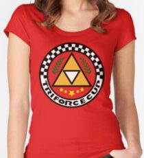 Triforce Cup Women's Fitted Scoop T-Shirt