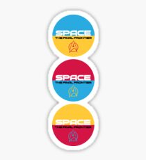 Star Trek, Space the final frontier Sticker