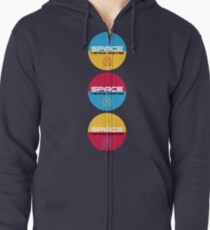 Star Trek, Space the final frontier Zipped Hoodie