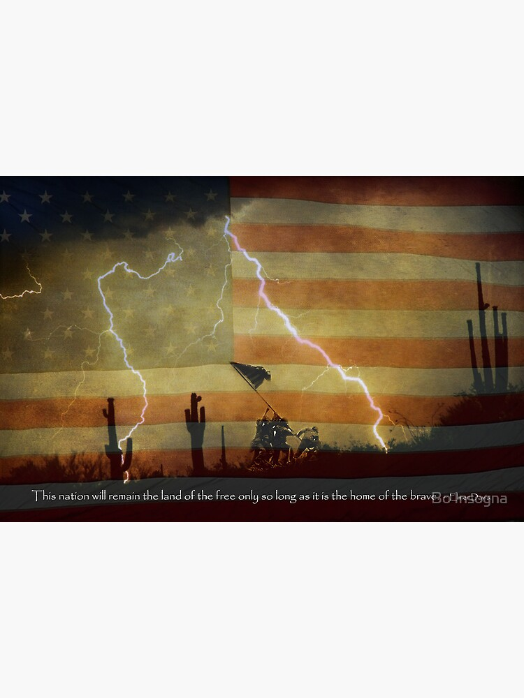 Land of the Free Home of the Brave by mrbo
