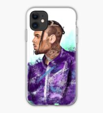 chris brown pop art iphone case