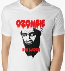 Osama is dead - Osama is undead 2 - Osama Men's V-Neck T-Shirt
