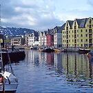 Fishing port, Alesund, Norway. by johnrf