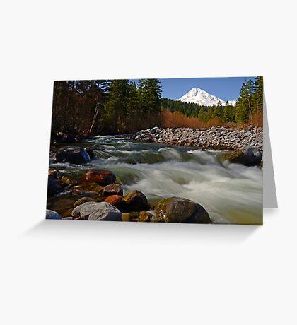 Hood River Landscape Greeting Card