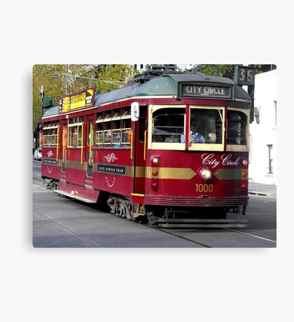 Lovely Old Tram Canvas Print