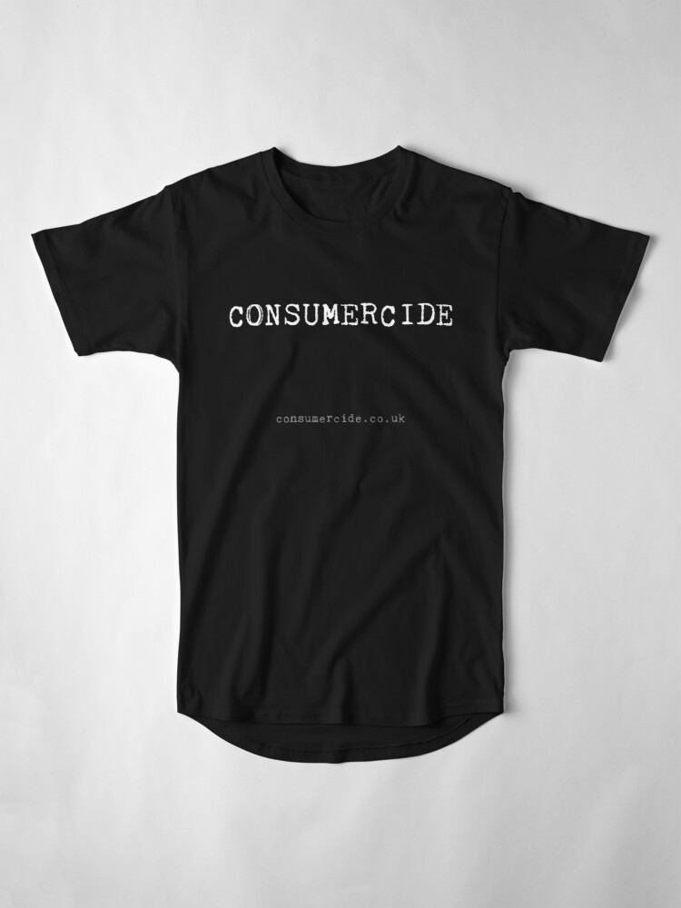 Alternate view of Consumercide Long T-Shirt