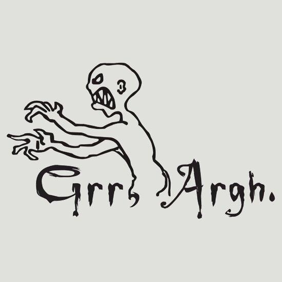 TShirtGifter presents: Grr, Argh. T-Shirt