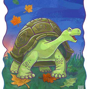 Animal Parade Tortoise by ImagineThatNYC