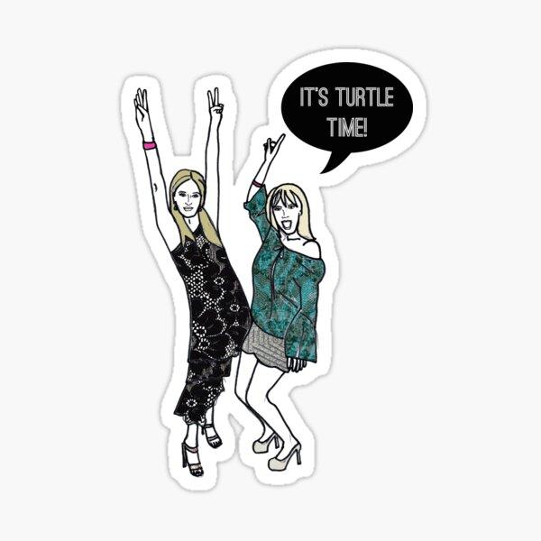 Turtle time Sticker