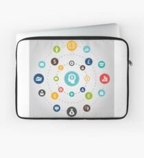 Business an orbit Laptop Sleeve