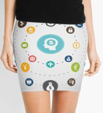 Business an orbit Mini Skirt