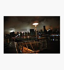 Batman's Gotham-like NYC Photographic Print