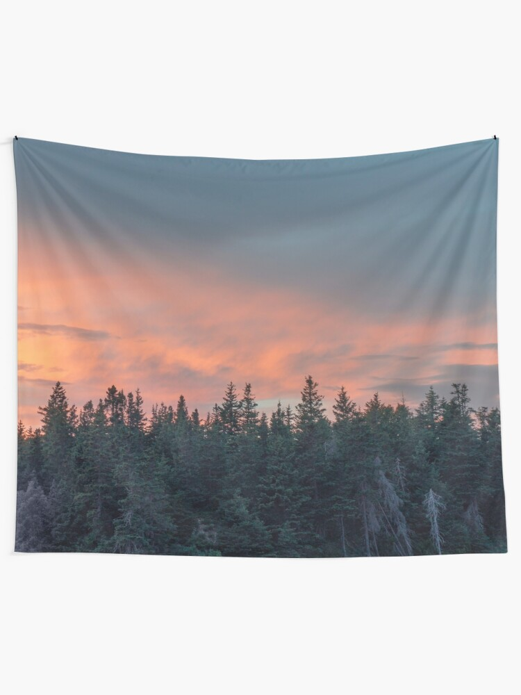 Alternate view of Sunset at Prince Edward Island II Tapestry