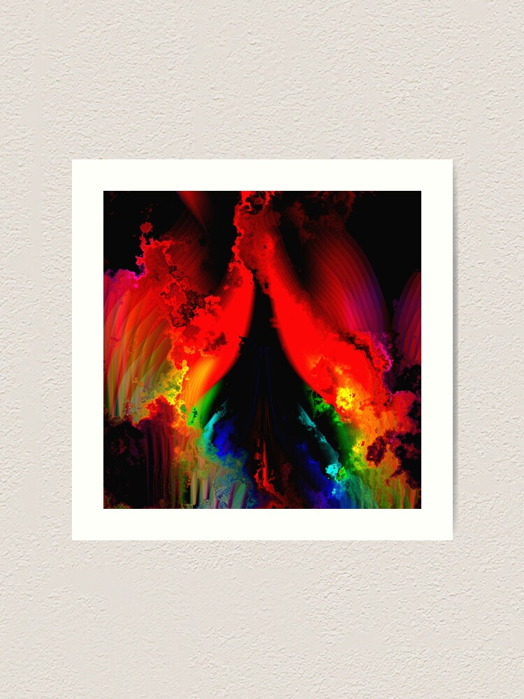 Alternate view of The Rainbow Way Art Print