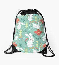 Rabbit Season Drawstring Bag