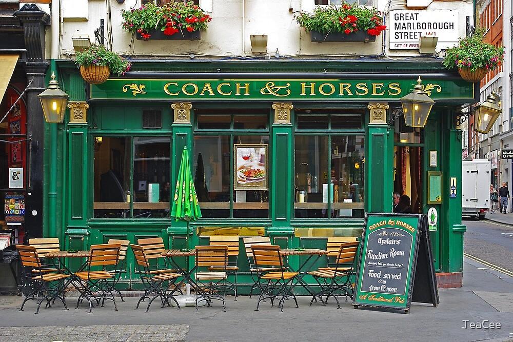 London Pub by TeaCee