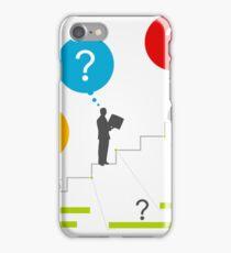 Business ladder3 iPhone Case/Skin