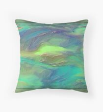 ABSTRACT- BEAUTY UNDER THE SEA Throw Pillow
