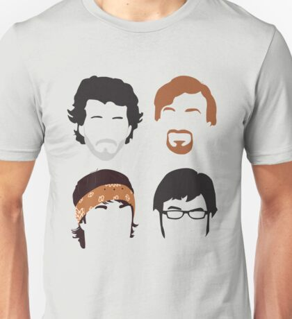 Flight of the Conchords Silly-ettes: 4-up Unisex T-Shirt