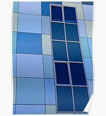 Blue on Blue  - Edith Cowan University Mt Lawley - Perth, Western Australia Poster