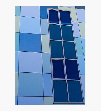 Blue on Blue  - Edith Cowan University Mt Lawley - Perth, Western Australia Photographic Print