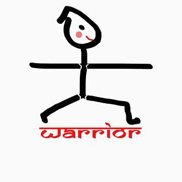 Yoga Warrior by HappyDesigner
