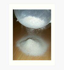 Sieve That Flour Art Print