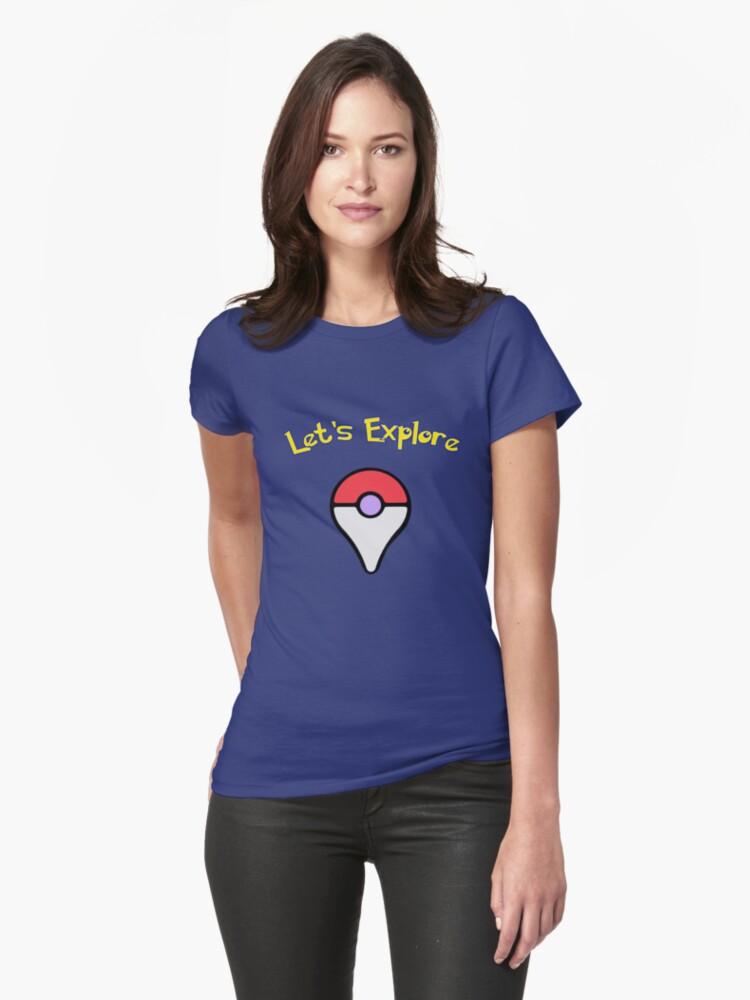 Let's Explore Womens T-Shirt Front