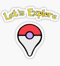 Let's Explore Sticker
