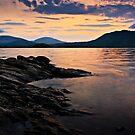 Sunrise, Derwent Water, Cumbria. UK by David Lewins