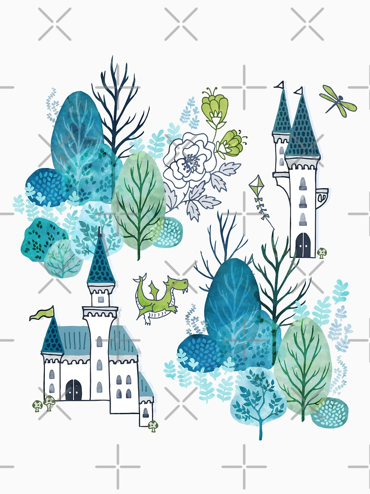 Fairy tale woods blue by adenaJ