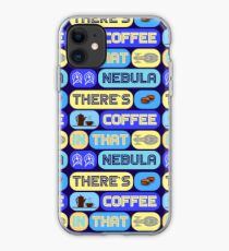 Star Trek, There's coffee in that nebula iPhone Case