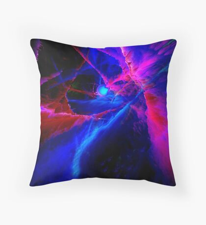 DISCOVERY OF THE NEWEST PLANET-PLEASE VIEW LARGER!!! Throw Pillow