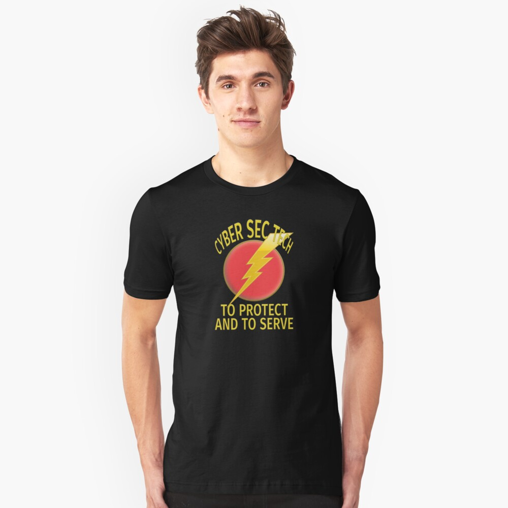 Cyber Security Technologist. Slim Fit T-Shirt