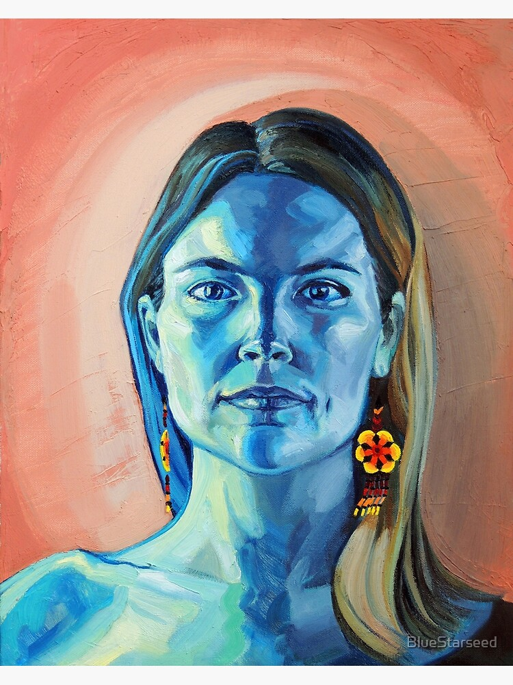 Peyote Woman (self portrait) by BlueStarseed