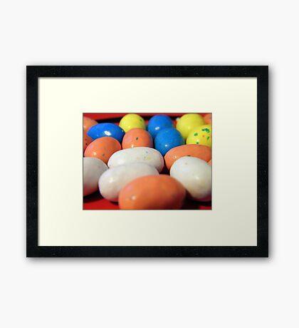 Macro Robin Eggs Framed Print