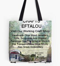 Eftalou Olive Wood Shop Tote Bag