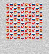 Love Russian Emoji JoyPixels Travel to Russia Kids Pullover Hoodie